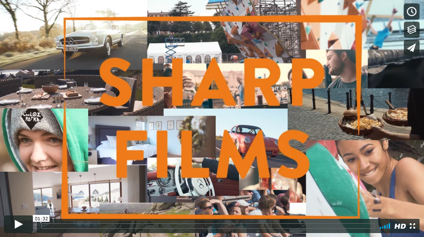 Sharp Films 2017 Showreel | Exeter Based Videographer