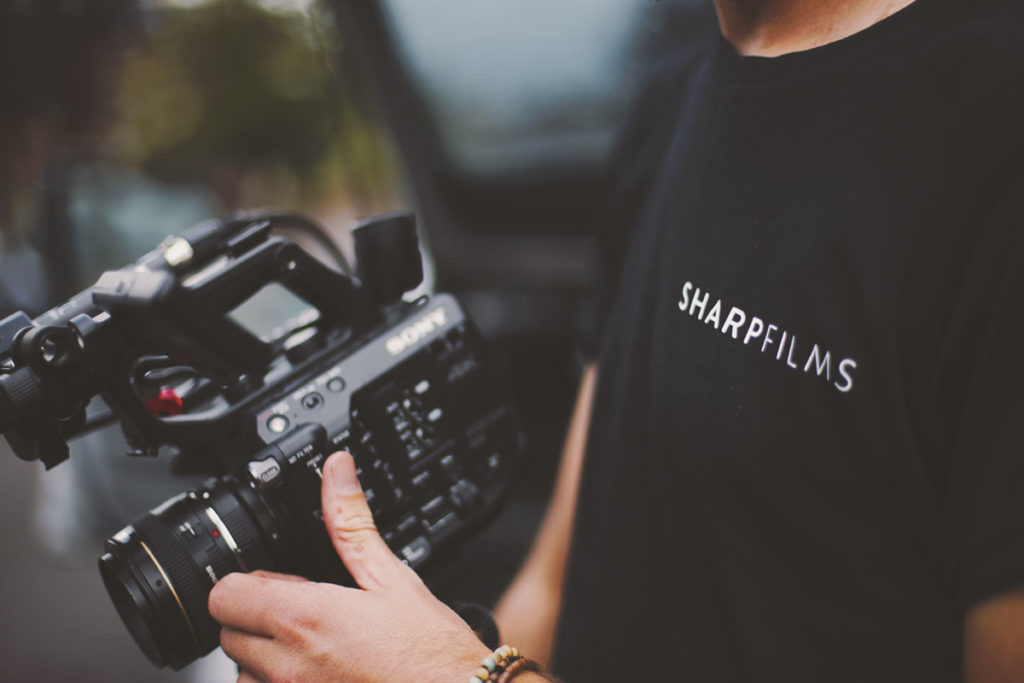 Sharp Films Exeter | video production services Devon